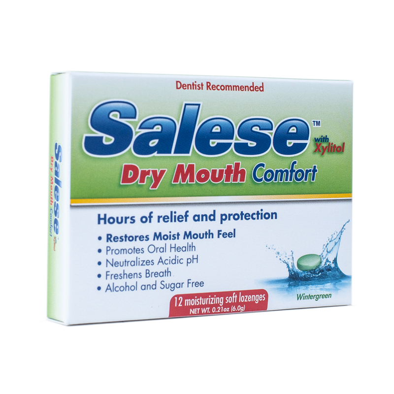 Salese Wintergreen – Soothing Dry Mouth formulation - by Nuvora Inc Santa Clara California